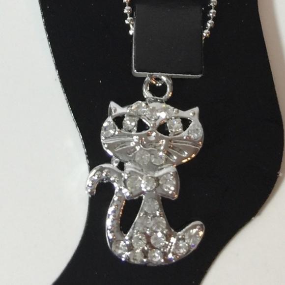 🌷 5/$25 Kitten Anklet Bracelet